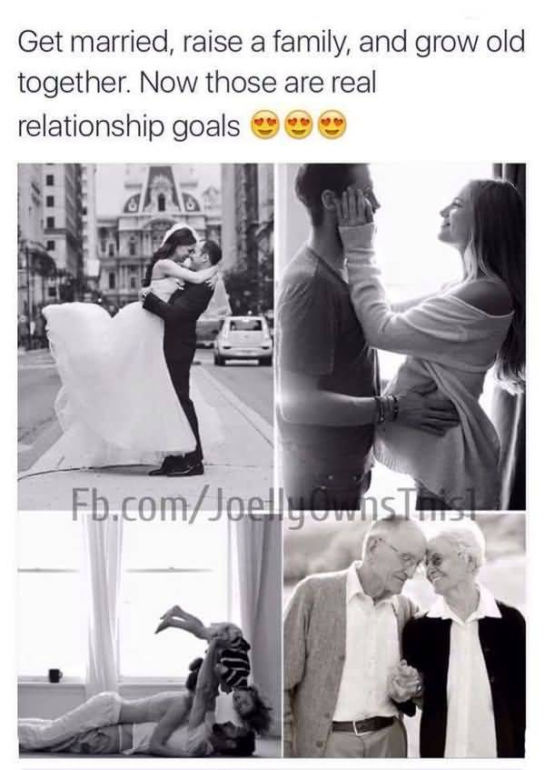 Couple Life Insurance Quotes: Amusing Usual Relationship Goals Meme Image