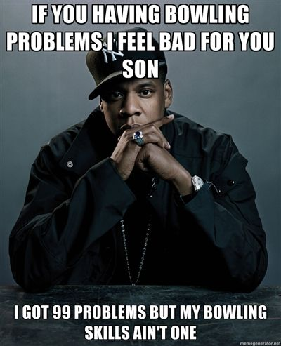 Bowling Meme Funny Image Photo Joke 01