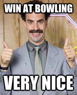 Bowling Meme Funny Image Photo Joke 09