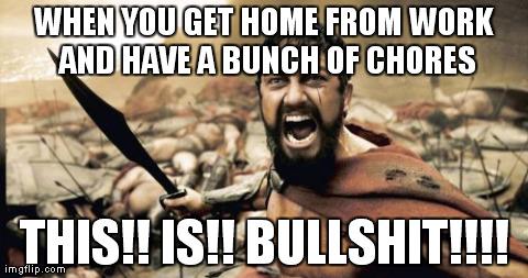 Chores Meme Funny Image Photo Joke 01