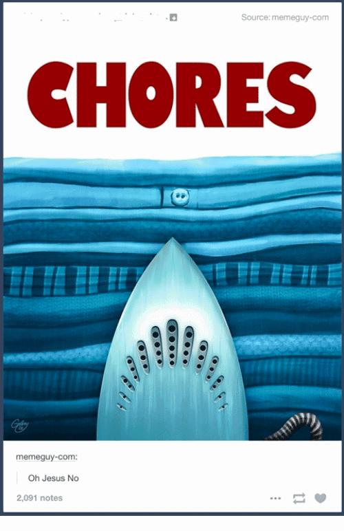 Chores Meme Funny Image Photo Joke 08
