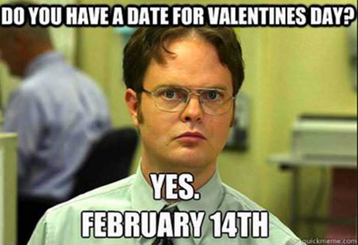 The Office Valentines Meme Funny Image Photo Joke 02