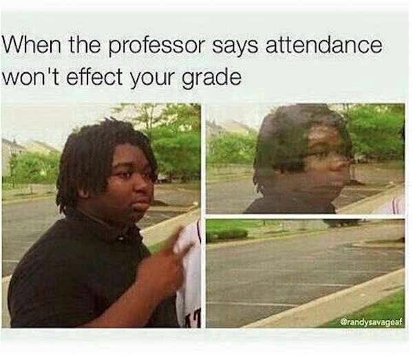 College Life Meme Funny Image Photo Joke 14