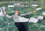 End Of Semester Meme Image Photo Joke 13