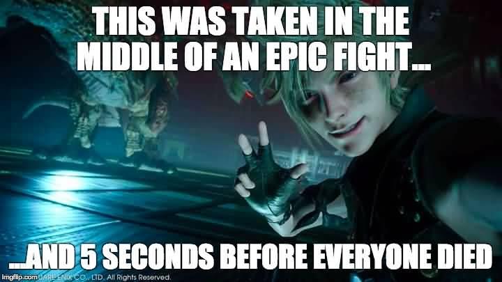 Final Fantasy Meme Image Joke 01