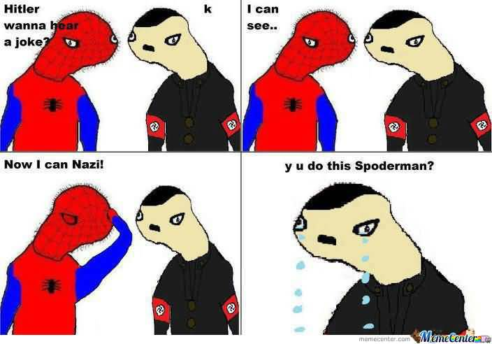 Spoderman Meme Funny Image Photo Joke 10