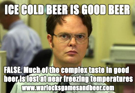 Ice Cold Beer Is Good Beer Craft Beer Meme Photo Quotesbae