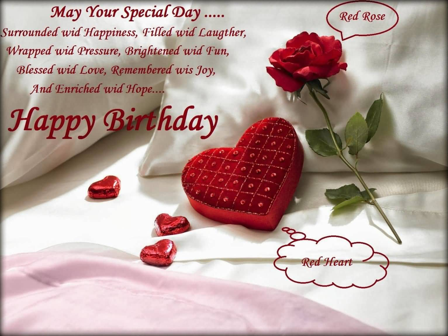 Happy Birthday Wishes For Husband Images Free Download May Your Special Day Quotesbae