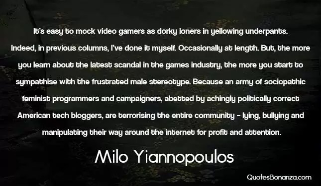 picture quote about video gamers