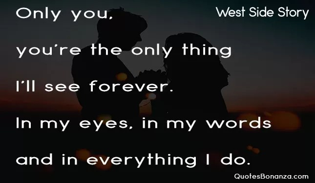 westside story quote