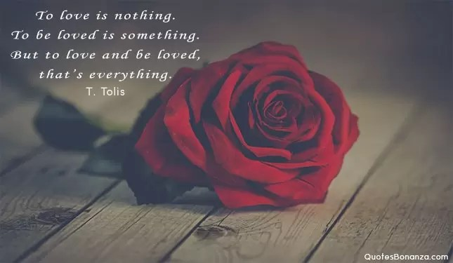 quote with red rose picture