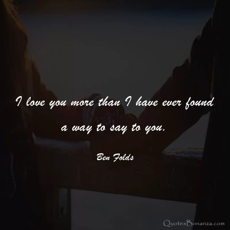 lovely i love you quotes