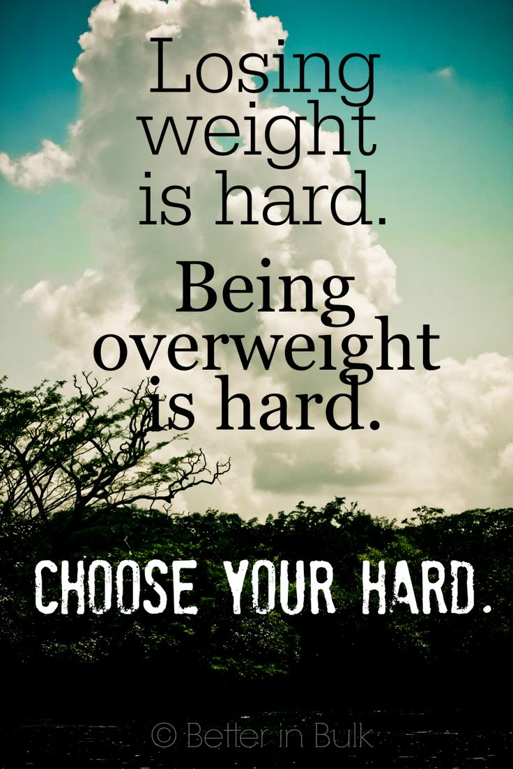 Fitness Quotes  Image Losing weight is hard Being