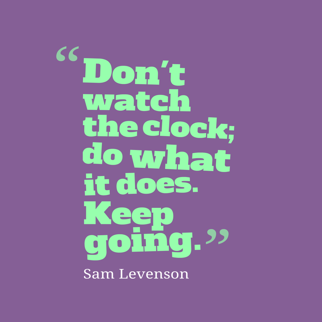 Picture Sam Levenson Quote About Action