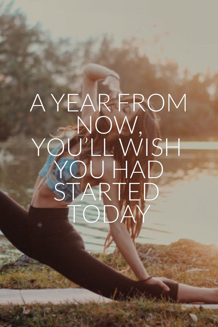 Weight Loss Inspirational Quotes Wallpaper Fitness Quotes A Year From Now You Ll Wish You Had