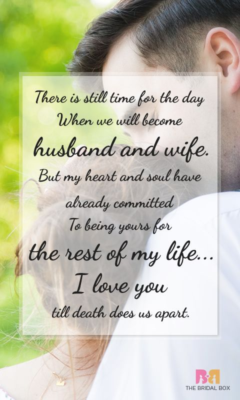 Love Quotes For Him  For Her Make your fianc feel the most special with these beautiful