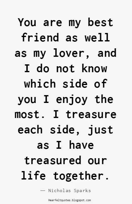 Love Quotes For Him & For Her :Nicholas Sparks Romantic
