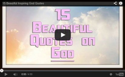 15 Beautiful God Quotes from Quotes Empire.