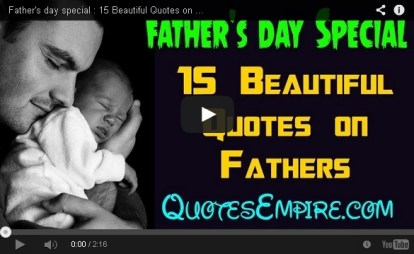 15 Quotes on Fathers