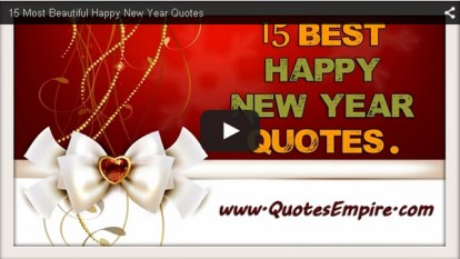 15 most beautiful happy new quotes