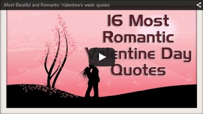 16 beautiful quotes on valentines week