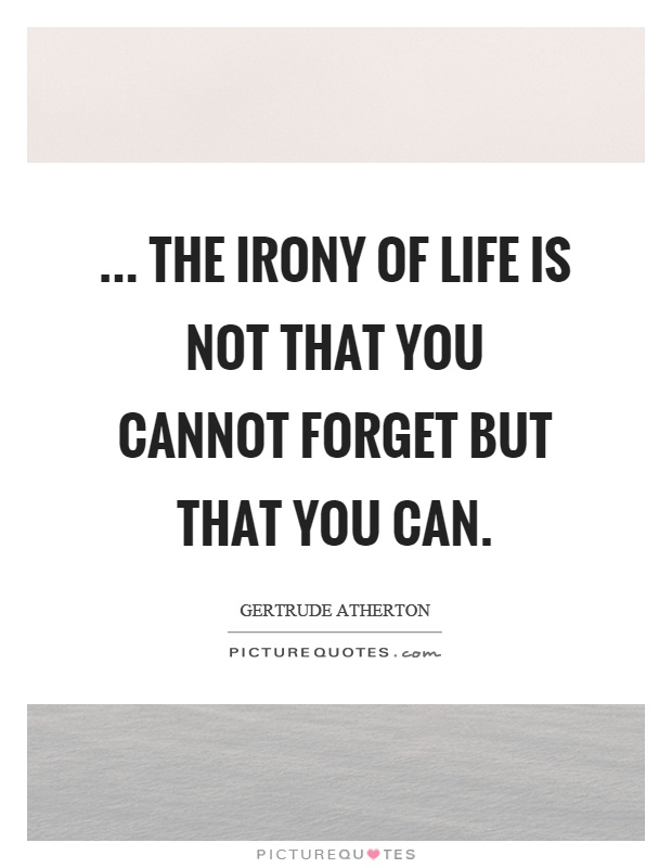 Irony Of Life : irony, Irony, Quotes, Humor