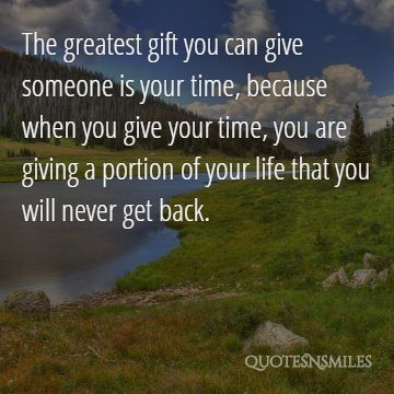 Quotes About Giving Giving back picture quote
