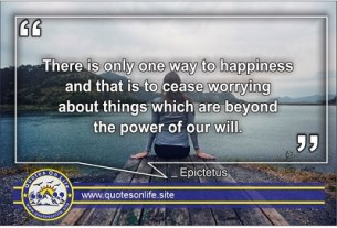Quotes on life and happiness
