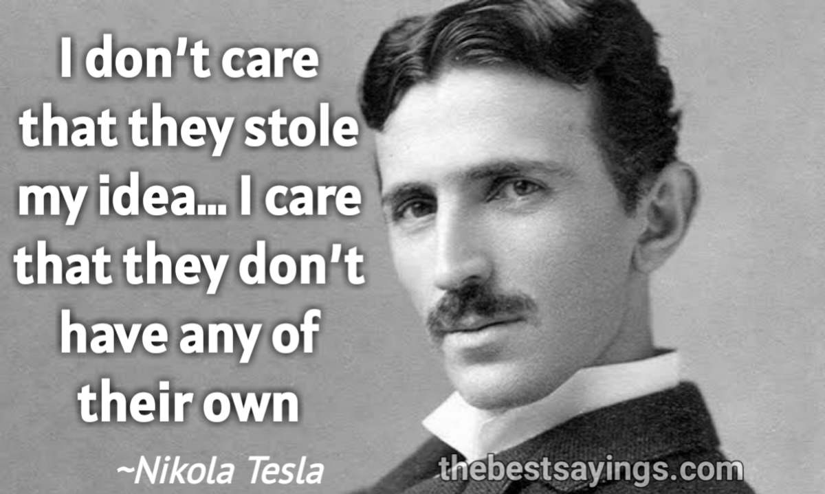 41 Best Nikola Tesla Quotes Great Inventor