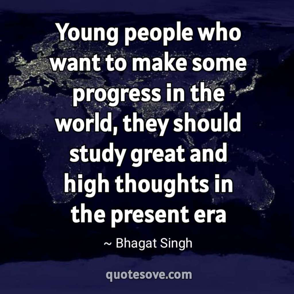 Young people who want to make some progress