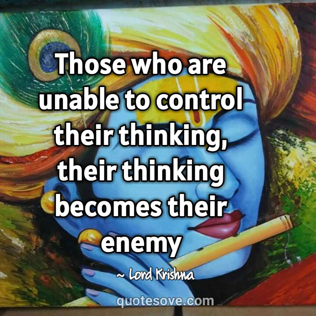 108 Best Krishna Quotes & Sayings Inspire You