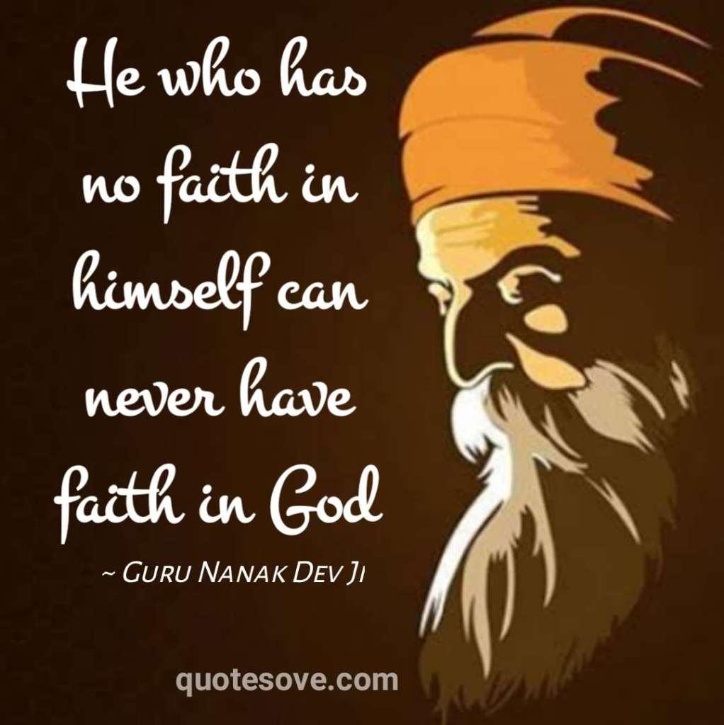 Guru Nanak Dev Ji Quotes and Saying
