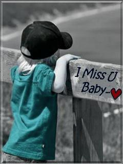 """Miss U Baby Pictures : pictures, Baby"""", Quotespictures.com"""