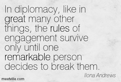 Diplomacy Quotes Pictures and Diplomacy Quotes Images with