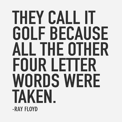 Golf Quotes Pictures and Golf Quotes Images with Message