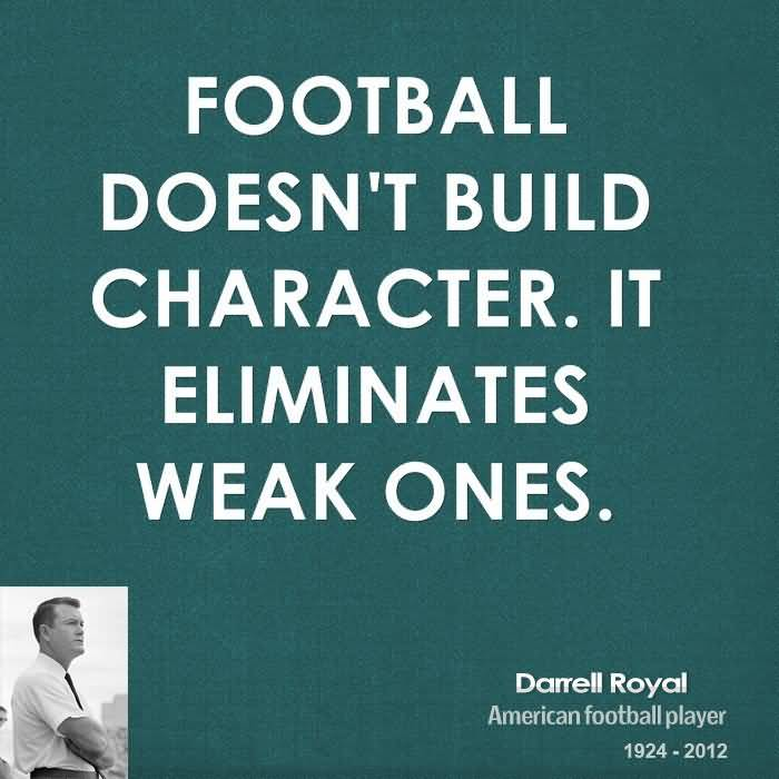 And Football Sayings About Quotes