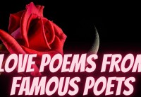 love Poems From Famous Poets Best Love Poems Of All