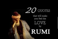 Quotes on Love by the Poet Rumi
