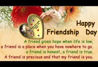 Best quotes and wishes to celebrate friendship best friendship