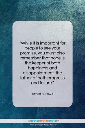 "Bryant H. McGill quote: ""While it is important for people to see…""- at QuotesQuotesQuotes.com"