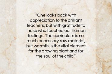 "Carl Jung quote: ""One looks back with appreciation to the…""- at QuotesQuotesQuotes.com"
