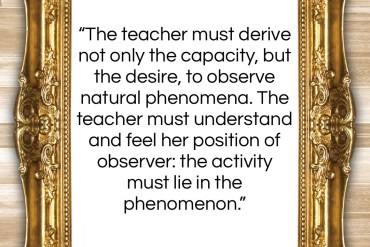 "Maria Montessori quote: ""The teacher must derive not only the…""- at QuotesQuotesQuotes.com"