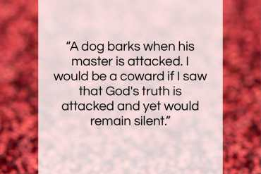"""Pearl S. Buck quote: """"A dog barks when his master is…""""- at QuotesQuotesQuotes.com"""