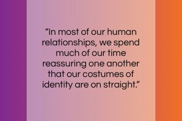 """Ram Dass quote: """"In most of our human relationships, we…""""- at QuotesQuotesQuotes.com"""