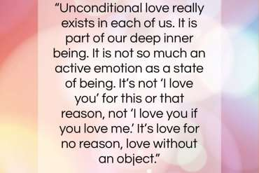 "Ram Dass quote: ""Unconditional love really exists in each of us….""- at QuotesQuotesQuotes.com"