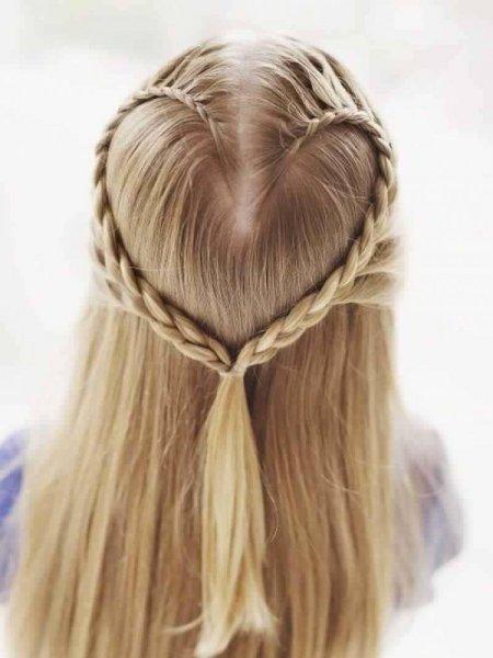 تسريحات شعر للاطفال تسريحات شعر بسيطة لاطفال لكل مناسبه
