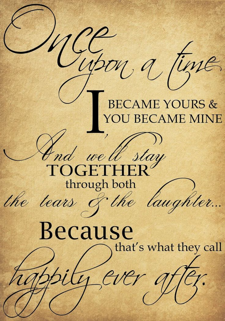 Beautiful Wedding Quotes About Love  Once Upon A Time I