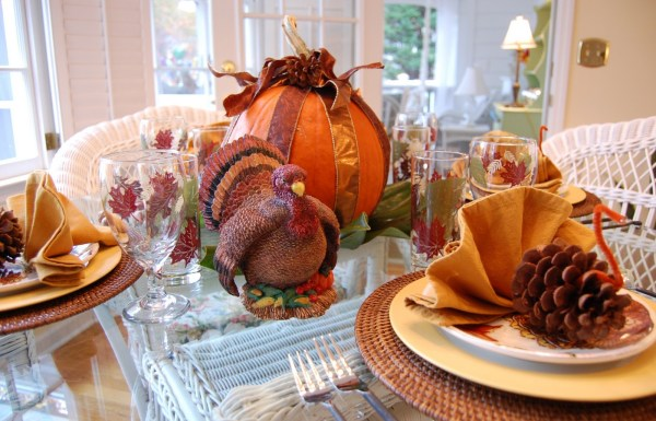 Thanksgiving Table Napkin Decorations Ideas
