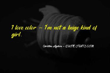 Top 61 Quotes About Beige: Famous Quotes & Sayings About Beige