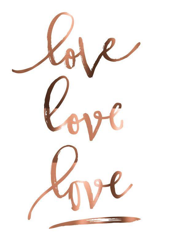 copper foil love love